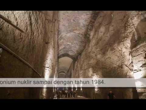 Bunker nuklir buatan manusia terbesar sejagat di China