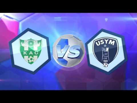 Match Complet KAC 1 Vs 1 USYM