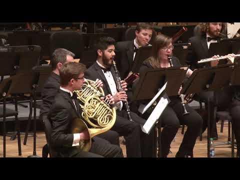Colorado State University Wind Symphony Concert 2-23-18