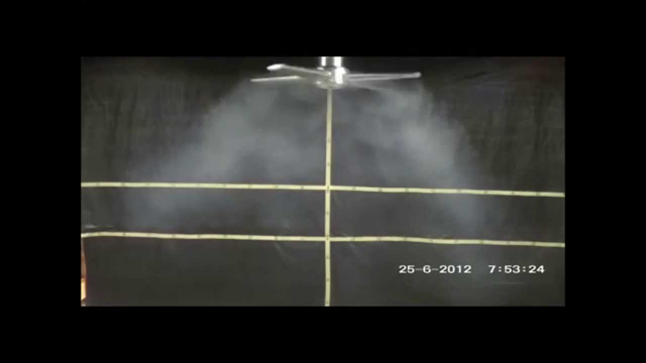 Dynamic Air Diffuser Smoke Tests Youtube