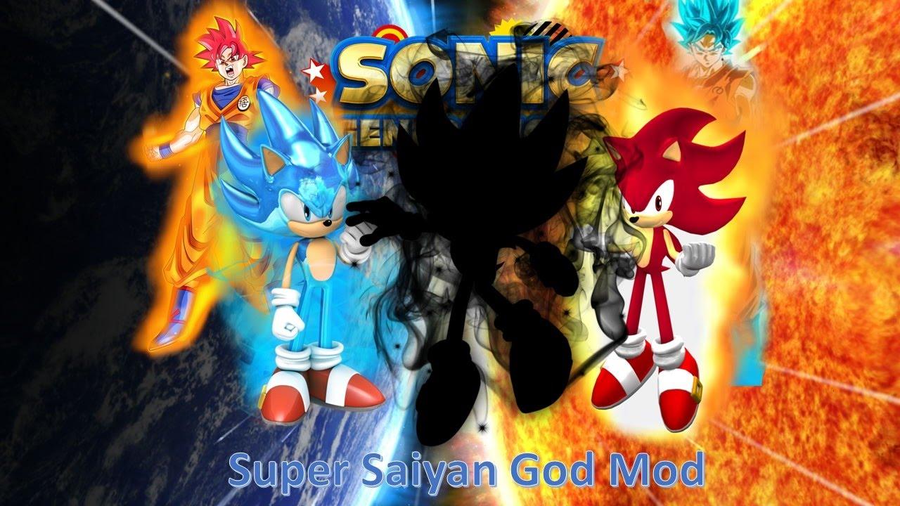 Sonic Generations Mod Part 63_ Super Saiyan God (SSGSS