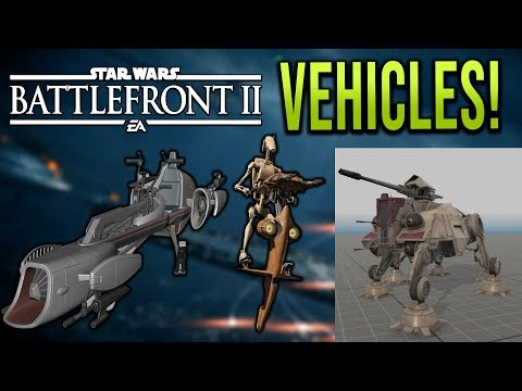 AT-TE Unit is awesome! + Speeders - Star Wars Battlefront 2 Vehicle hype!