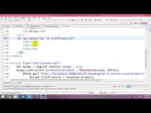 Consuming Java Restful Web Service with...