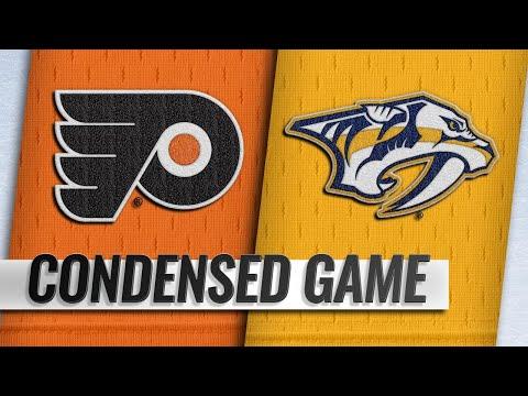 01/01/19 Condensed Game: Flyers @ Predators