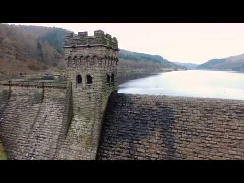 Derwent valley drone flight