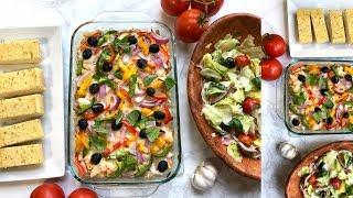 Pasta Pizza Casserole Video Recipe | Bhavna
