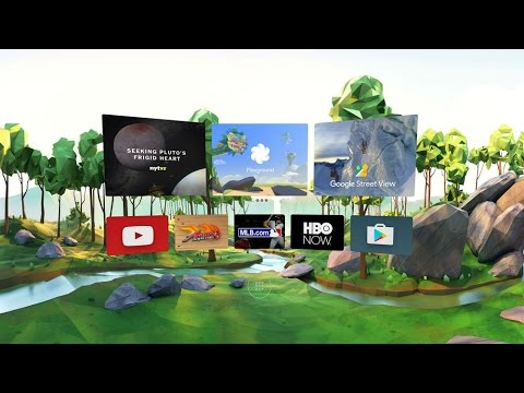 First Look at Google Daydream and Controller