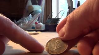 Чистим монеты уайт спиритом