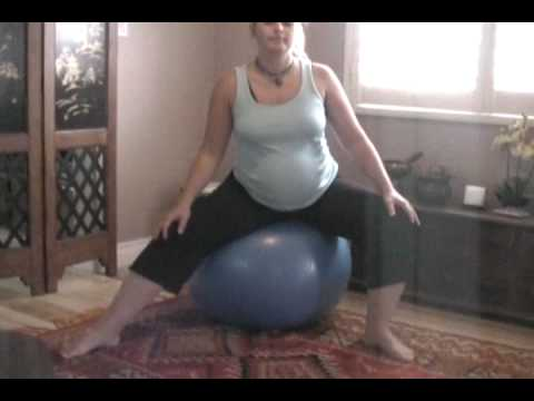 pregnant yoga ball exercises  yoga for you