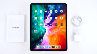 iPad Pro 2020 Unboxing & erster Eindruck