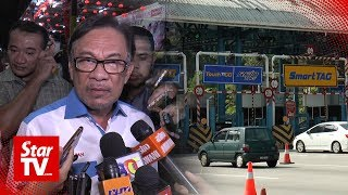Anwar: Toll talks not a vote-buying tactic
