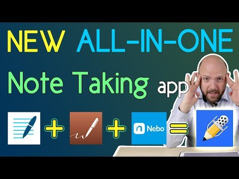 New Best Note Taking App for iPad Pro + Stylus | 2018 | Notability is GoodNotes4 + Notes Plus + Nebo