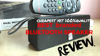 BLUETOOTH SPEAKER || ALTEC LANSING DUAL MOTION iMW 140  || REVIEW