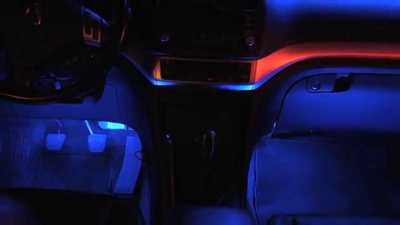LEDGlow | Blue 4pc Interior Lighting Kit Product Demo Video