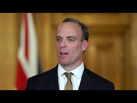 Watch Again: Dominic Raab Joined By Chris Whitty For Daily Coronavirus Briefing