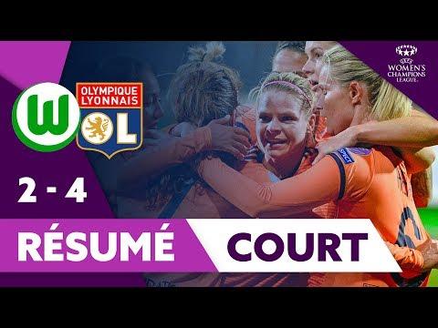 Résumé Court Wolfsburg / OL UWCL | Olympique Lyonnais