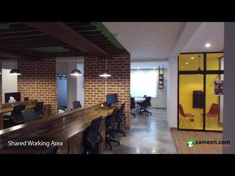FULLY FURNISHED OFFICE FOR RENT IN GULBERG LAHORE