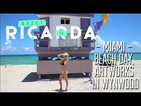 TRAVEL VLOG: MIAMI- BEACH DAY//WYNWOOD//OUT AND ABOUT