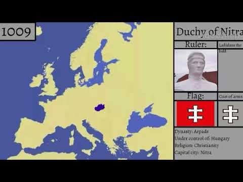 History of Slovakia - Every year (791-2018