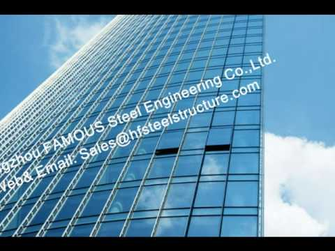 Chinese Monolithic Glass Façade Curtain Wall Unitized and Fabricated Contractor General