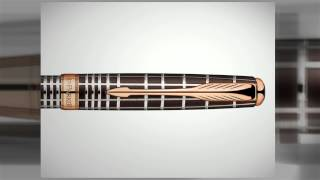 ручка Parker Sonnet Premium K531 Chiselled Brown обзор