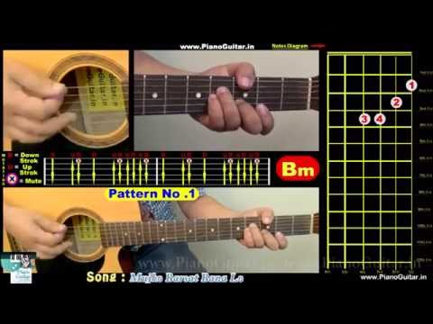 Guitar Chords of Mujko Barsat Bana Lo - Joonuniyat
