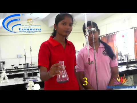 JRC-EC BE First Year Chemistry Practical 1