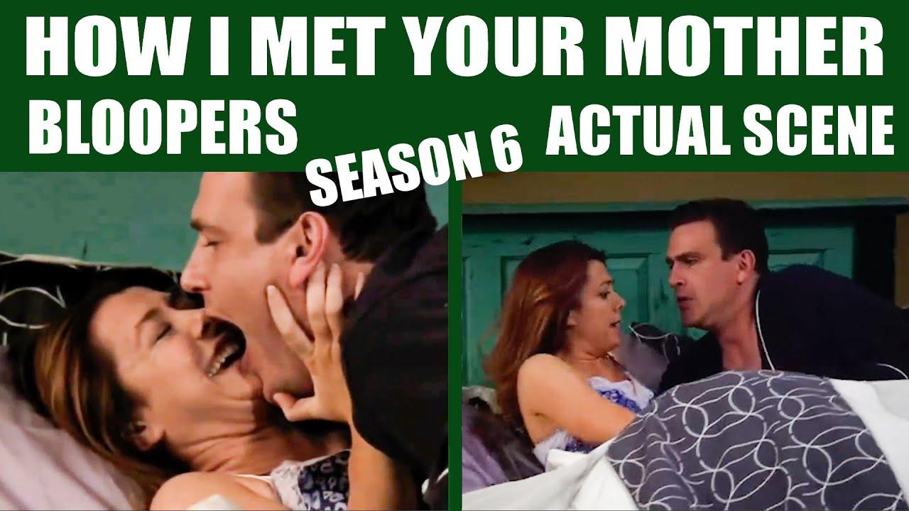 Download How I Met Your Mother | Season 6 Bloopers vs Actual Scene