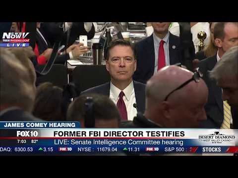 FULL HEARING: James Comey TESTIMONY at Senate Intelligence Committee Hearing (FNN)