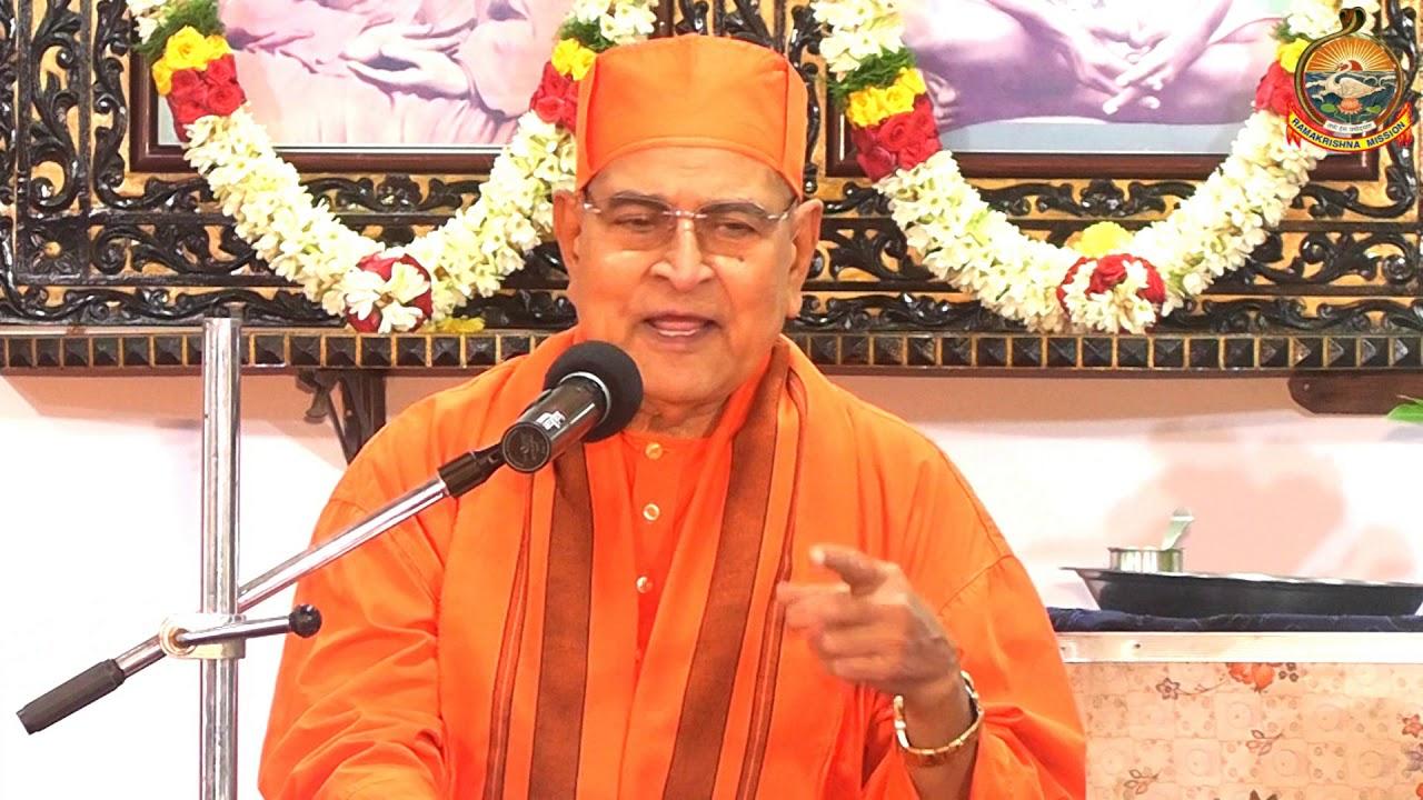 Blood Donation Inauguration speech by Rev Swami Gautamanandaji Mj