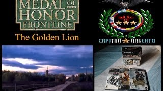 Medal of Honor Frontline PC PS2 HD The Golden Lion Cap Argento