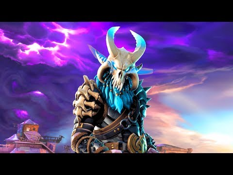 Fortnite Ragnarok (Style Stage 4) Performs All Dances Season 1-5 [LEGENDARY SKIN OUTFIT COSTUME]