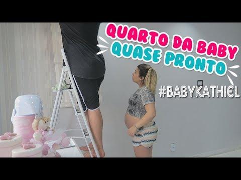 QUARTO DA BABY ELIZA QUASE PRONTO | Kathy Castricini