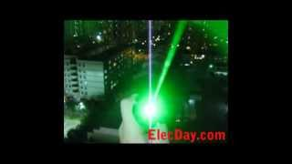 2012 New Powerful 500mw Green Laser Pointer Lights With Flashing Beam L121