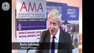 AMA UK interview Boris Johnson - Mayor of London