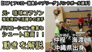 【ハンドボール】(StiF所属)仲程海渡のハイライト集 シュート・動きを解説