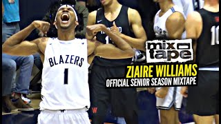 Ziaire Williams OFFICIAL Senior Year Mixtape!! 5 Star Recruit Is a STRAIGHT PROBLEM!!