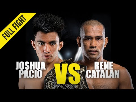 Joshua Pacio Vs. Rene Catalan | ONE Full Fight | November 2019