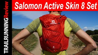 Salomon Active Skin 8 Set Review - Mochila Salomon con estructura