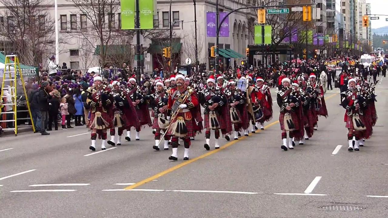 Vancouver Christmas Parade.Vancouver Santa Claus Parade 2017 Part 2