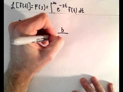 Laplace Transform : The Derivative Theorem