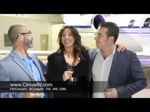 Cirrus Aviation's Private Jet Charter VIP Hangar Party