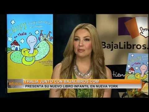 Thalía presenta su nujevo libro en NY / BajaLibros.com