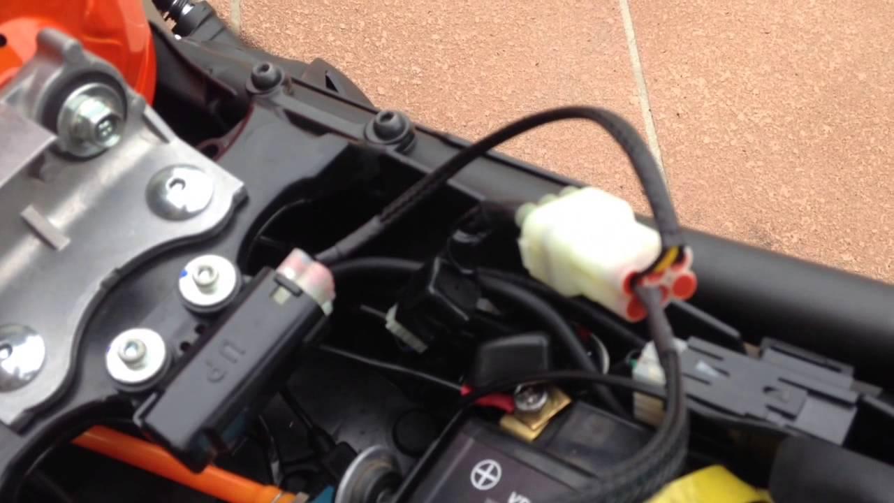 Fz09 Mt09 Quickshifter Setup Youtube Yamaha Mt 09 Wiring Diagram
