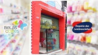 Conheça a nova loja Empório das Lembrancinhas