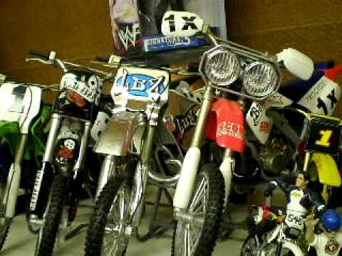 My Dirt Bike Toy Collection Youtube