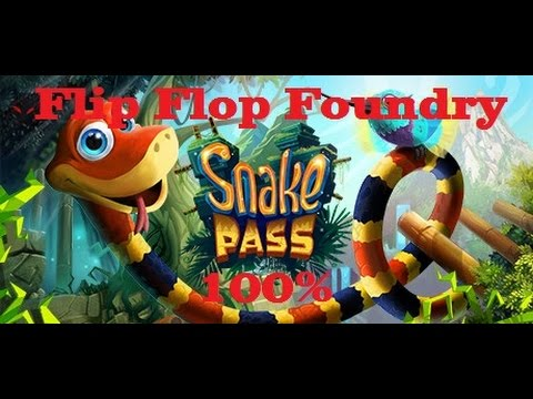 Snake Pass 100% Guide - Level 9 (Flip Flop Foundry)