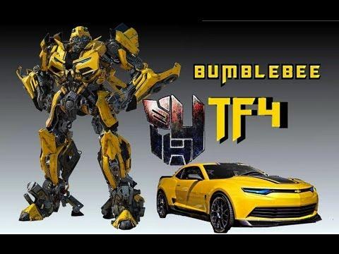 Transformers 4 Age of Extinction Bumblebee fan art - YouTube