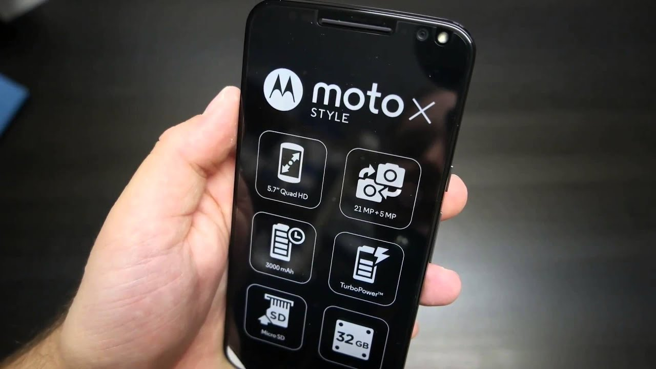 Motorola Moto X Style unboxing