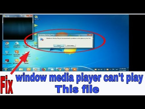 How To Fix Windows Media Player Encountered A Problem While Playing A File